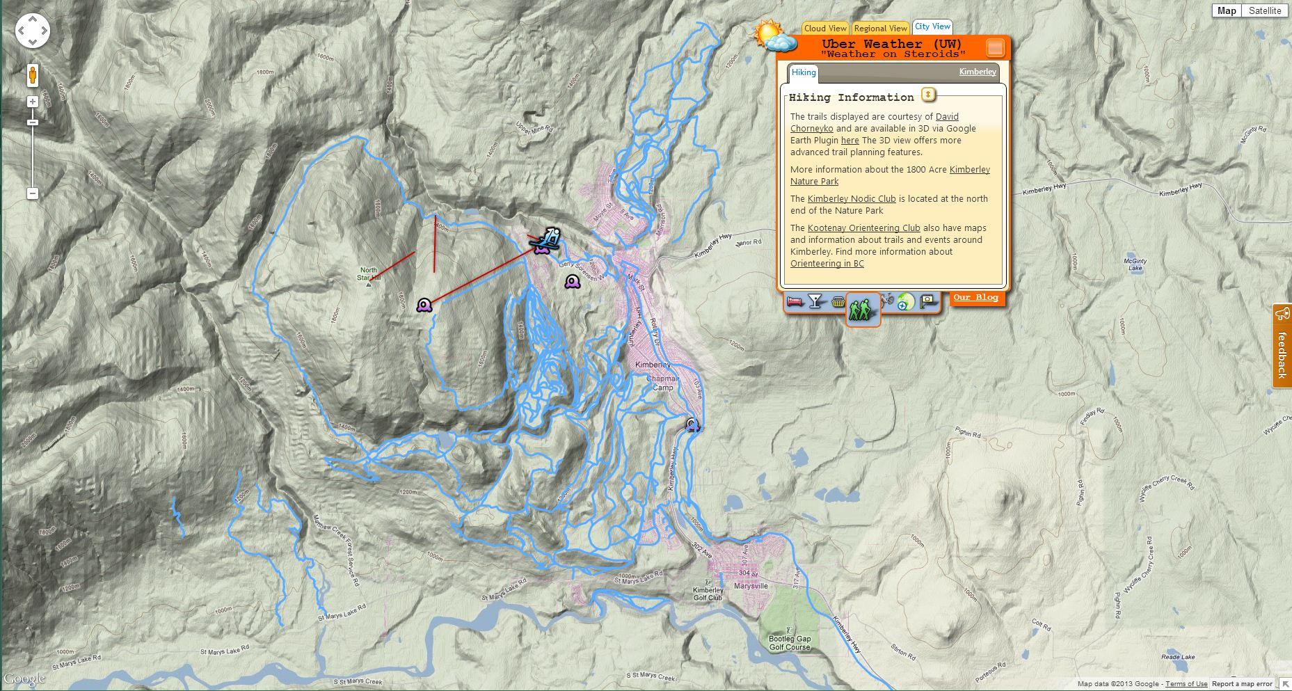 Uber weather landmax news hiking trails publicscrutiny Images